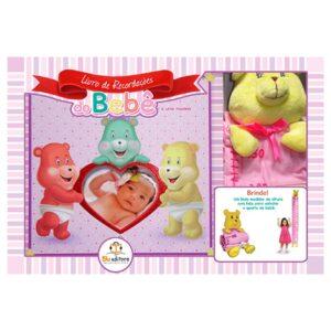 Livro de Recordações do Bebê – Menina