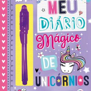 Diário com Caneta – Meu diario magico de unicornios