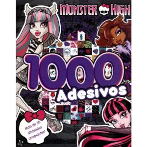 Monster High – 1000 Adesivos