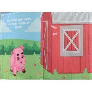 Livro de Pano: Fiversão na Fazenda – Porquinho