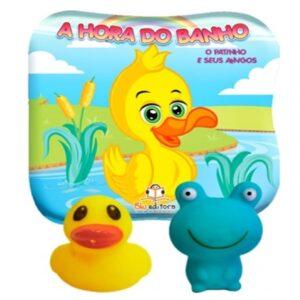 A Hora do Banho – O Pato e seus Amigos