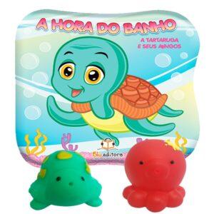 A Hora do Banho – A Tartaruga e seus Amigos