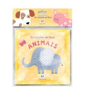 Livro de banho – Animais