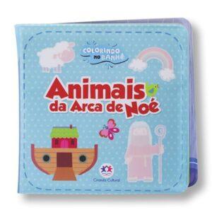 Livro de banho – Animais da arca de Noé