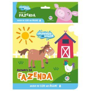 Livro de banho – Animais da fazenda
