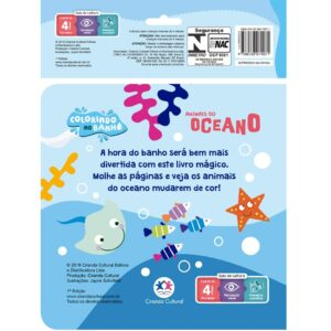 Livro de banho – Animais do oceano