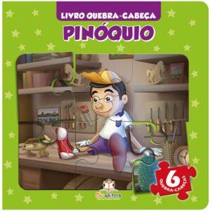 Quebra-Cabeça Pequeno Capa Almofadada: Pinóquio