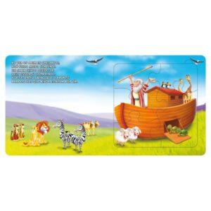 Quebra-Cabeça Pequeno Capa Almofadada: Arca De Noé
