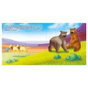 Livro Quebra-Cabeça Grande: Arca De Noé