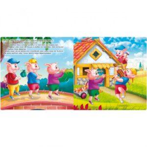 Livro Quebra-cabeça Grande: Os Três Porquinhos